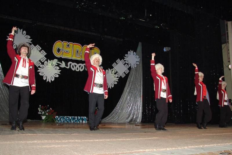 Башкирский танец тимер бай